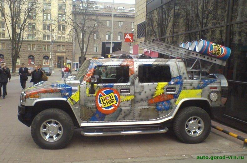 Эксклюзивный тюнинг авто (44 фото) .