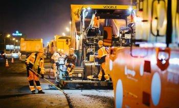 Снег, дождь, морозы - ремонт дорог в России продолжается несмотря ни на что