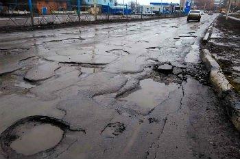 Воронежские дорожники приступили к ямочному р ...
