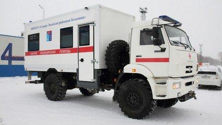 «КамАЗ» разработал спецверсию автомобиля «скорой помощи» для северных районов
