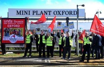 На заводе BMW массовая забастовка