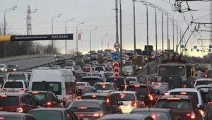 В Москве грязный воздух из-за автомобилей
