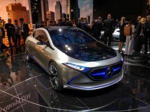 Mercedes будет выпускать электрические кроссо ...