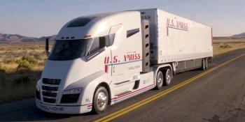Nikola Motors представил грузовик на топливных ячейках (ВИДЕО)