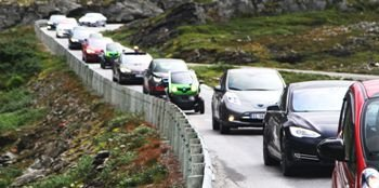 Норвегия в 2025 году введет запрет на продажу автомобилей с ДВС