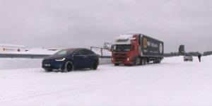 В Норвегии кроссовер Tesla отбуксировал 43-то ...
