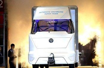 Китайцы тестируют «грузовик будущего»
