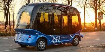 Китайцы запустят беспилотные автобусы в Японии