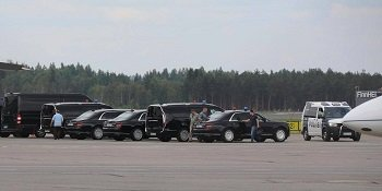 Новый лимузин для Путина отправился в Хельсинки