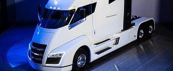 Nikola Motor выведет на дороги водородные фуры (ВИДЕО)