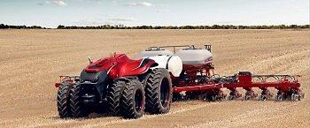 Беспилотные тракторы разрабатывают в США