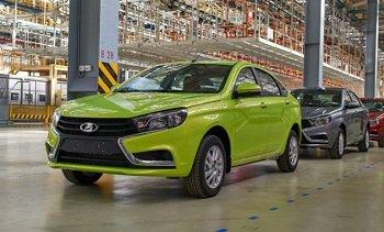 Темпы производства легковых автомобилей в России упали