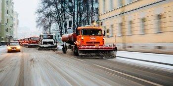 В России начались тесты беспилотной коммунальной техники