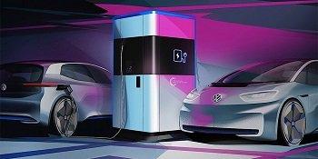 Volkswagen разработал power bank для своих электромобилей