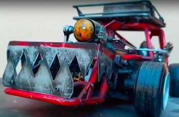 Блогер показал радиоуправляемый дрифт-кар из мира