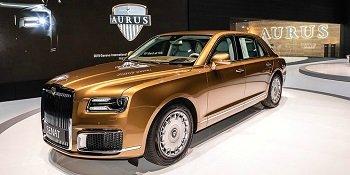 Автомобилей Aurus будут поставлять в Европу в 2021 году