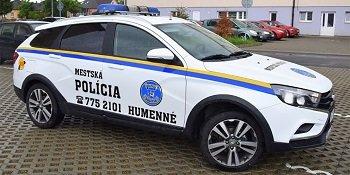 Европейская полиция закупила Lada