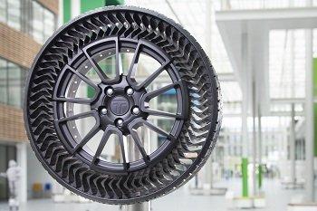 Michelin разработал новые необычные колеса