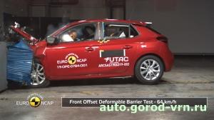 Машина Mazda CX-30 оказалась самой безопасной по результатам исследования Euro NCAR