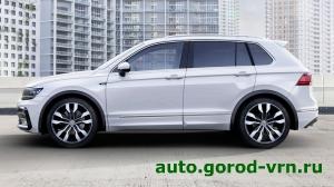 Продажи кроссовера Volkswagen Tiguan в России прибавили 7%