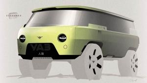 Необычную современную «Буханку» представил автозавод УАЗ