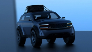 Альтернативный вариант дизайна новой Lada Niva представлен в сети