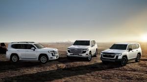 Компания Toyota объявила о начале продаж нового Toyota Land Cruiser 300 с дизельным мотором в России