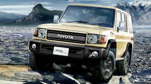 Начались продажи обновленного Toyota Land Cruiser 70