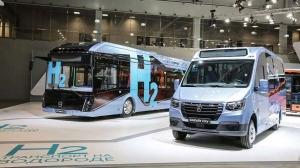Автобусы на водородном топливе представила компания ГАЗ